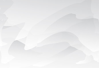 White and gray gradient abstract line and wavy background