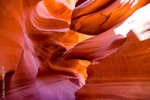Foto op Canvas Rood traf. Antelope Canyon, Arizona, USA