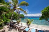 Blue lagoon beach near Padang bai port, Bali, Indonesia