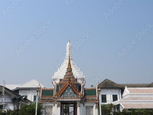 Aluminium Bangkok Königspalast in Bangkok
