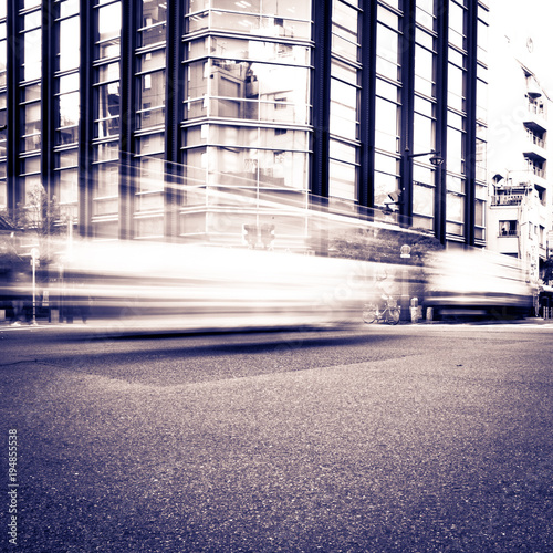 Aluminium Tokio Motion blurred vehicles Toky0 Japan