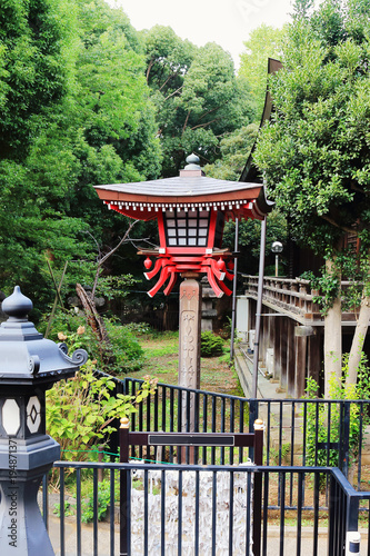 Aluminium Tokio lantern in Japanese Park