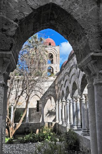 Palermo Palermo, rovine del chiosro di San Giovanni degli eremiti
