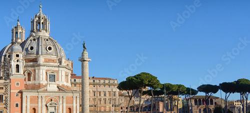 Poster Rome Monumenti e chiese di roma
