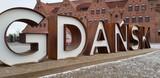 Gdańsk. Napis - 194882976