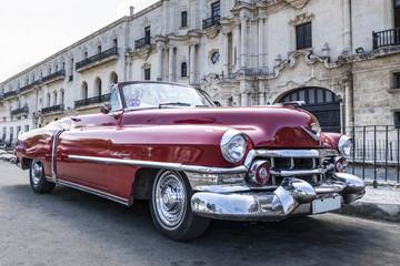 Auto antiguo clasico en La Habana