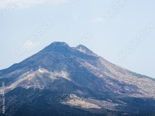 Tuinposter Bali Bali volcano, Agung mountain from Kintamani in Bali