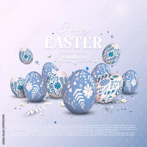 Stylowe tło Wielkanoc