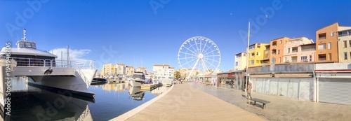 Port du Cap d'agde, Hérault en Occitanie, France