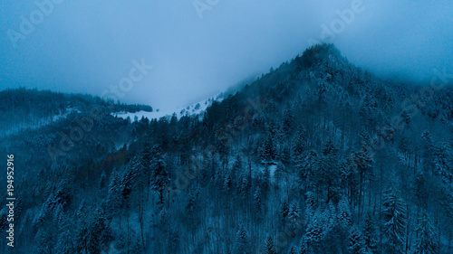 Foto op Canvas Blauw Landscape feeling free