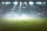 Soccer field with blur spotlight - 194963715