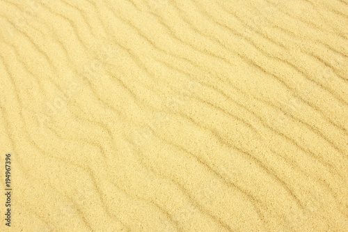 Natural pattern of sand. Close up
