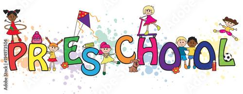 preschool word