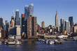 Midtown Manhattan cityscape from Hudson River - 194973765