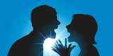 Dispute  Couple  Conflit  Divorce  Violence  Colère  Séparation  Violent  Confrontation  Fâcher  Crier Wall Sticker