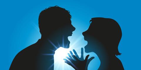 dispute - couple - conflit - divorce - violence - colère - séparation - violent - confrontation - fâcher - crier