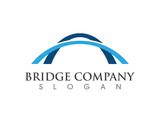 Bridge icon vector illustration Logo