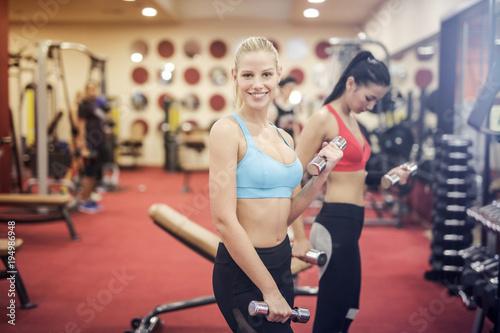 Dziewczyny na siłowni