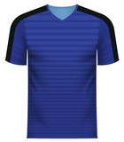 Sports team tee shirt in generic common color pattern
