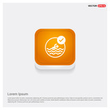 Swimming Icon Wall Sticker