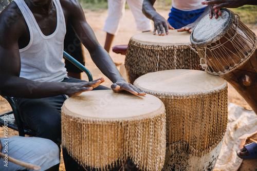 Fototapeta african drumming