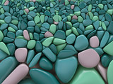 colorful stones pattern - 195003542