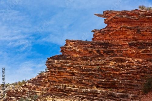 Foto op Canvas Diepbruine Rocks in nature