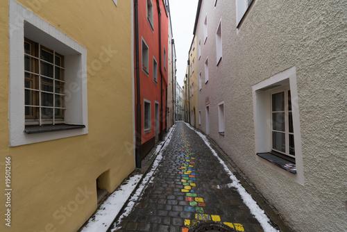 Aluminium Smalle straatjes way