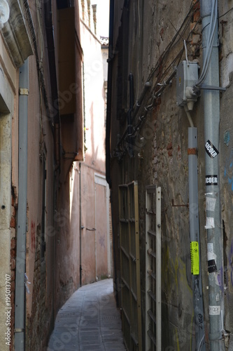 Wall Murals Narrow alley Italy