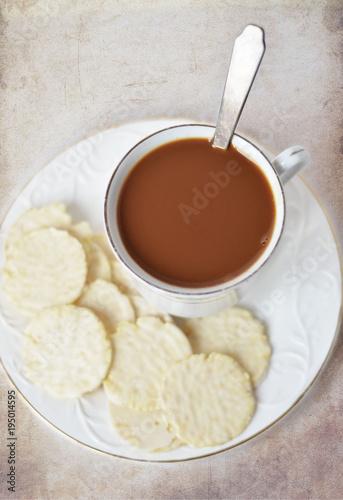 Poster Chocolade Горячий шоколад.