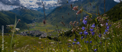 Foto op Canvas Panoramafoto s ANDERMATT