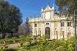 Quadro secret gardens of Villa Borghese, Rome