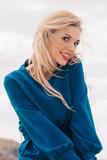 Happy fashion model woman - 195050301