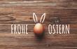 Quadro Frohe Ostern