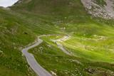 Дорога в горах петляет серпантин - 195064985