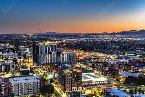 Foto Murales Phoenix Arizona City Overlook