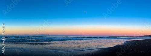 Staande foto Zee zonsondergang Stinson beach