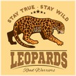 Vector Jaguar leopard Logo emblem symbol