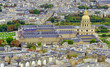 Les Invalides church and museum seen from Eiffel Tower, Paris