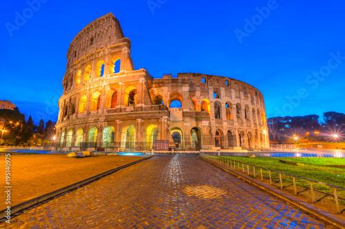Poster Rome Rome, Coliseum. Italy.