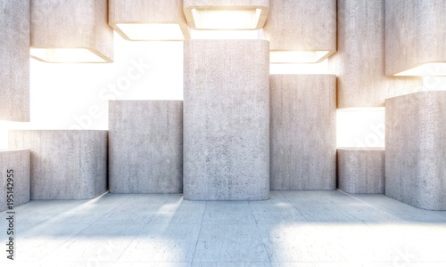Wall mural modern abstract structure