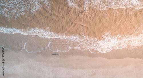 Folly Beach z lotu ptaka