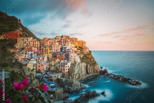 Fotobehang Liguria Manarola