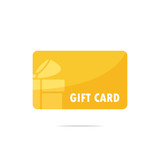 Gift card vector - 195145301