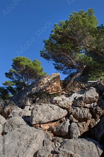 Foto op Plexiglas Donkergrijs Palma de mallorca Porte de la calobra