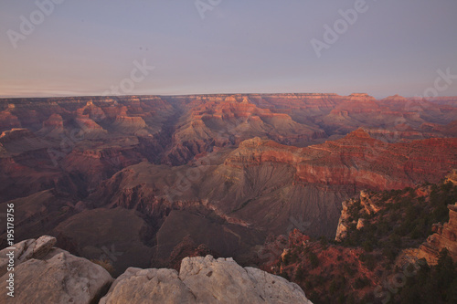 Foto op Canvas Donkergrijs Grand Canyon