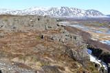 Iceland Golden circle Gja Thingvellir National Park world heritage winter アイスランド ギャウ ゴールデンサークル シンクヴェトリル国立公園 世界遺産 - 195181730
