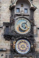 The Prague medieval astronomical clock