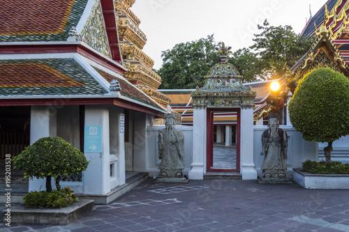 Aluminium Thailand Wat Pho in Bangkok, Thailand