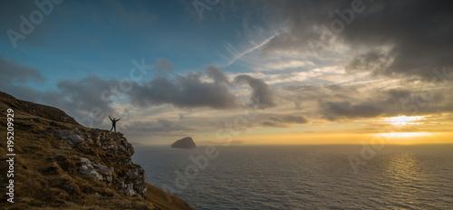 Staande foto Zee zonsondergang Faroe Islands Sunsets